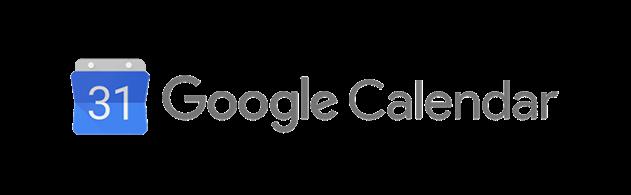 Google Calendar logo transparent