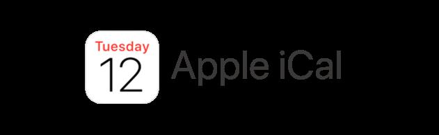Apple iCal logo transparent