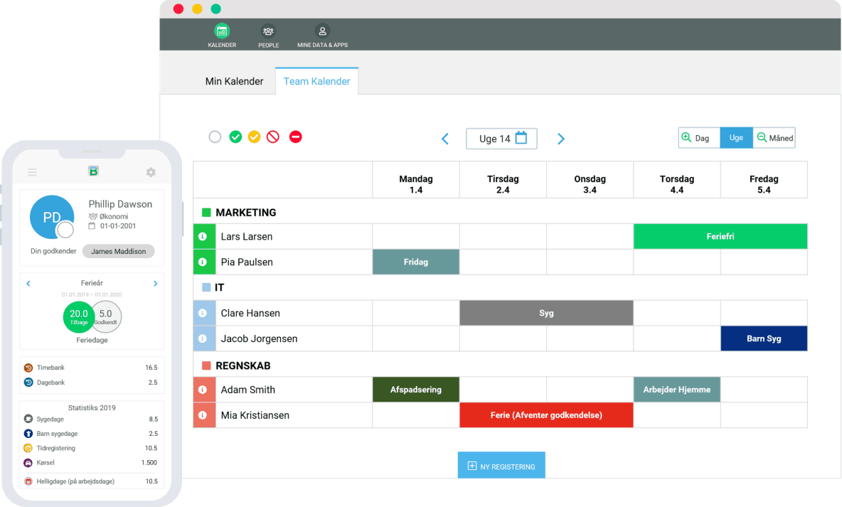 BitaBIZ time management system