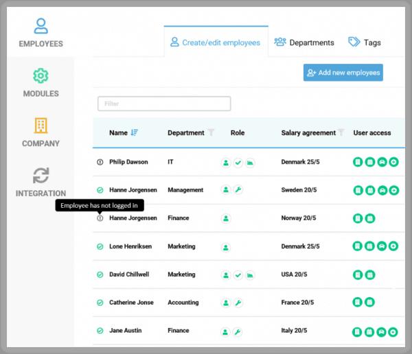 BitaBIZ - User Management