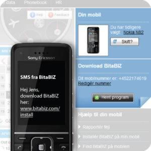 BitaBIZ mobil app