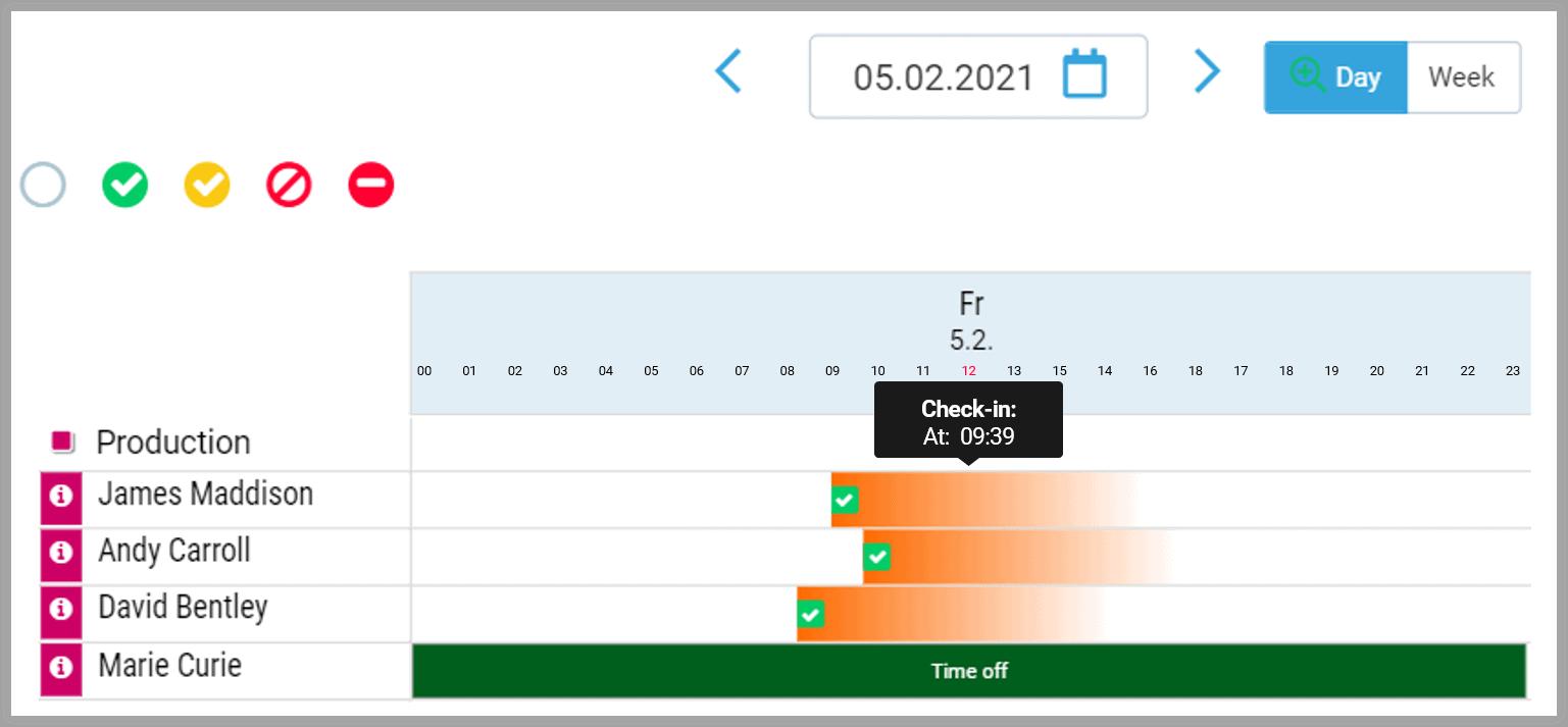 planning calendar