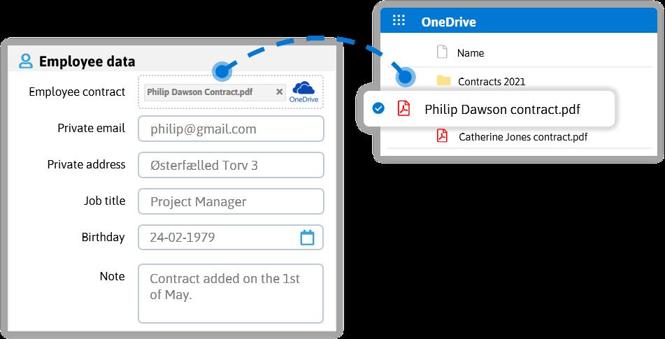 onedrive document sharing
